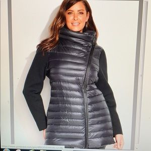 Calvin Klein performance down coat plus